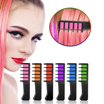 Amazon.com : KK-mall Disposable Hair Dye Comb Temporary Hair ...