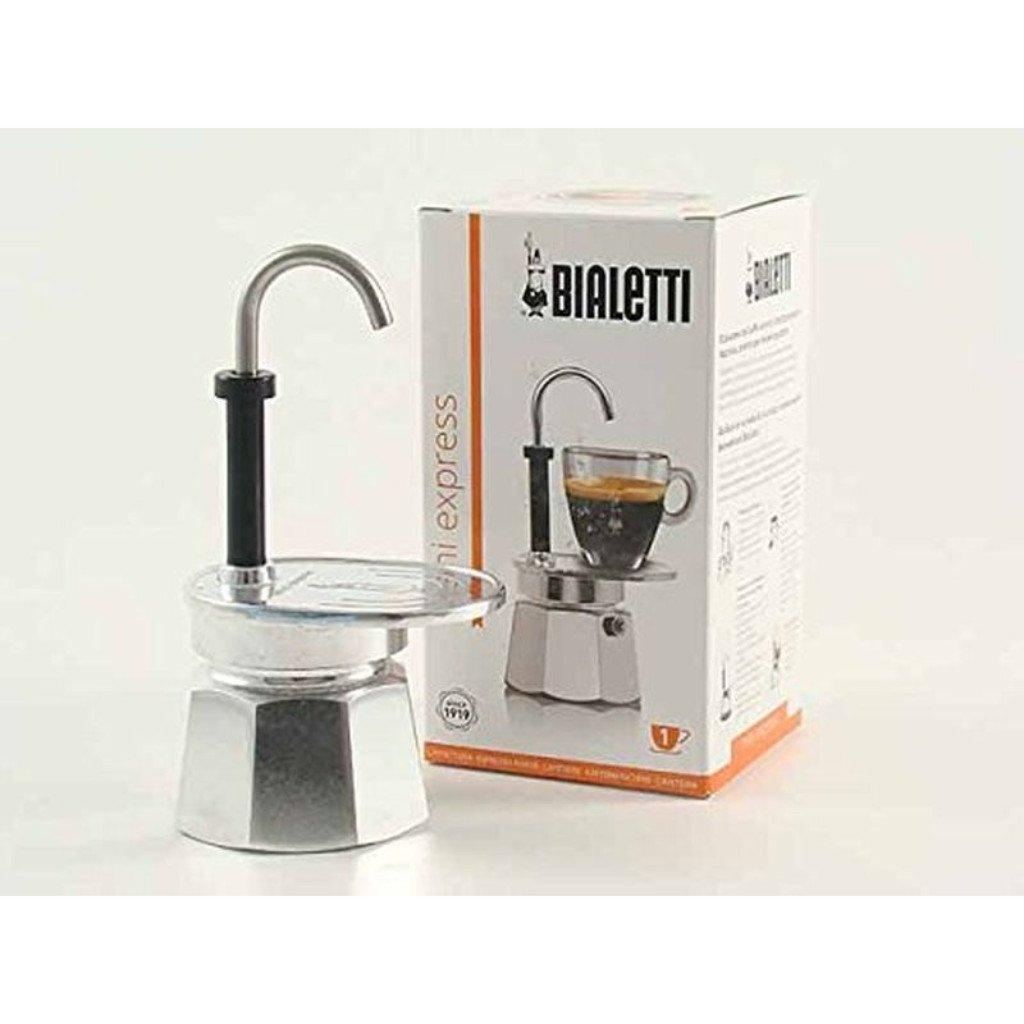 Bialetti 1281 Mini Express Espresso Maker, Silver