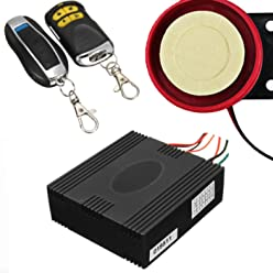 Motorcycle Bike Anti-Theft Security Burglar Alarm System Remote Control ~ Alarma de Seguridad para