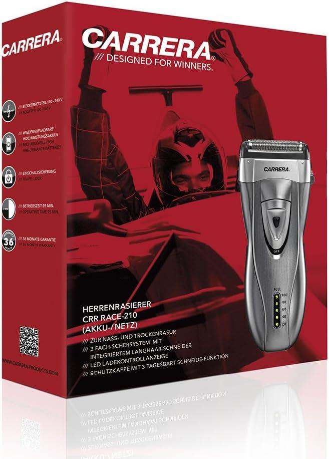 Carrera CRR RACE-210 - Afeitadora eléctrica para hombre ...