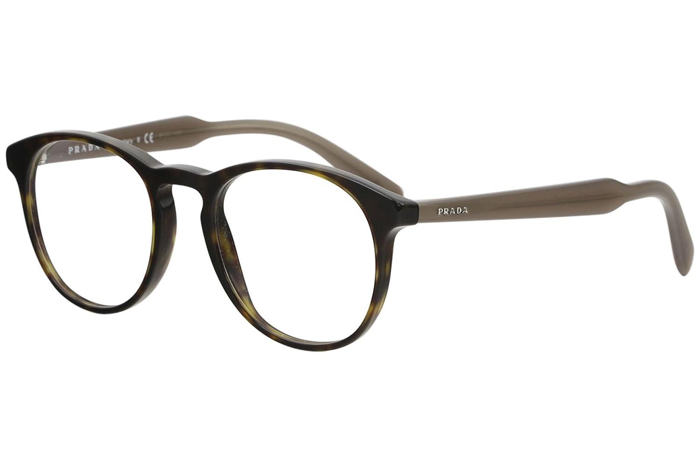 d9d91542ab3c9 Prada Men s PR 19SV Eyeglasses Havana 50mm at Amazon Men s Clothing store