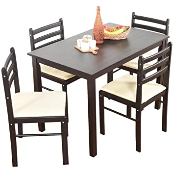 Zen Life Letor Solid 4 Seater Dining Table Set Amazonin Home Kitchen