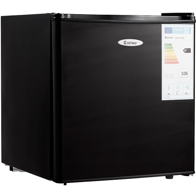 Ostway - Mini nevera con congelador, 1 estante, capacidad de 48 L ...