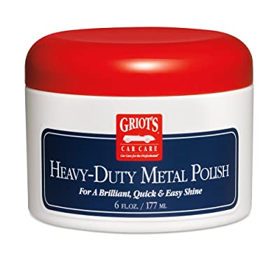Griot's Garage 11155 Heavy Duty Metal Polish - 6 oz.: Automotive