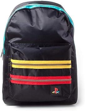 Playstation Retro Logo Backpack Mochila Tipo Casual 41 Centimeters 20 Negro (Black): Amazon.es: Equipaje