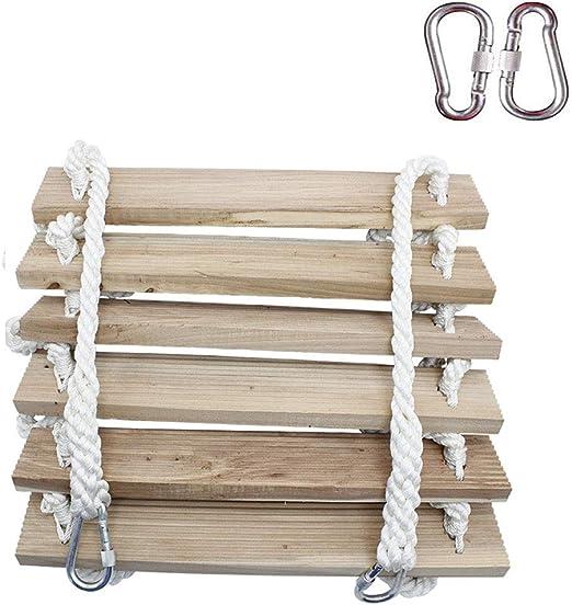 GUTYRE Escalera de Cuerda Suave, Cuerda de Nailon Antideslizante ...