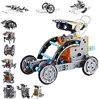 العاب روبوت تعليمية تعمل بالطاقة الشمسية 12 في 1 من اينو تك متوافقة مع نظام ستيم - 190 قطعة مخصصة للاطفال للتعرف على…