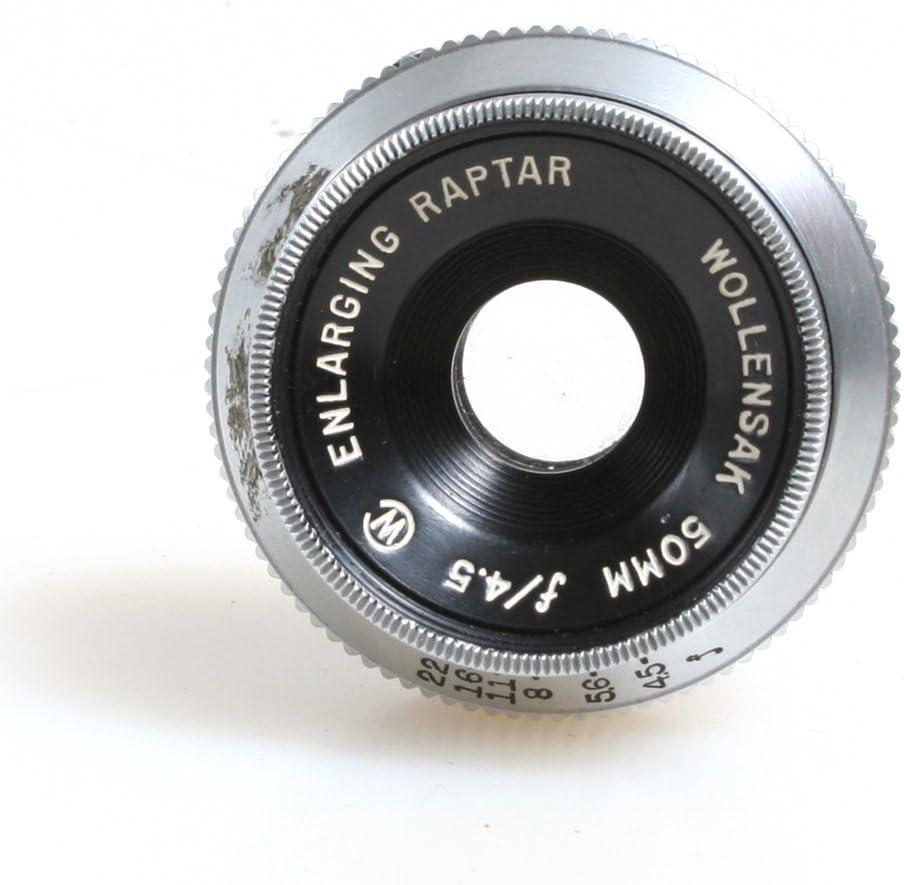 WOLLENSAK RAPTAR 50MM F//4.5 ENLARGING LENS