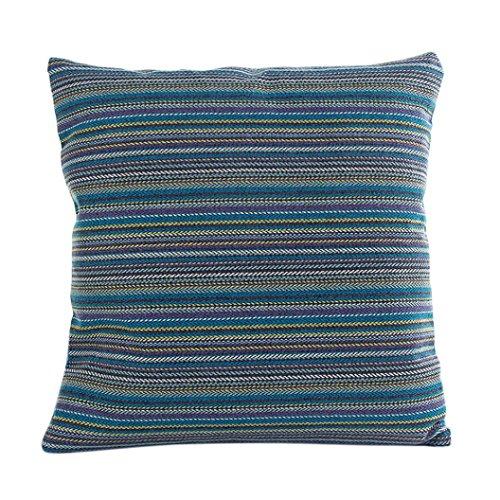 Modern Lines Set Sofa (Gotd Modern Stylish Light Color Vintage Stripe Line Decorations Decor Throw Pillow Case Sofa Waist Throw Cushion Cover Home Decor Square 45cm x 45cm 18inch x 18inch (B))