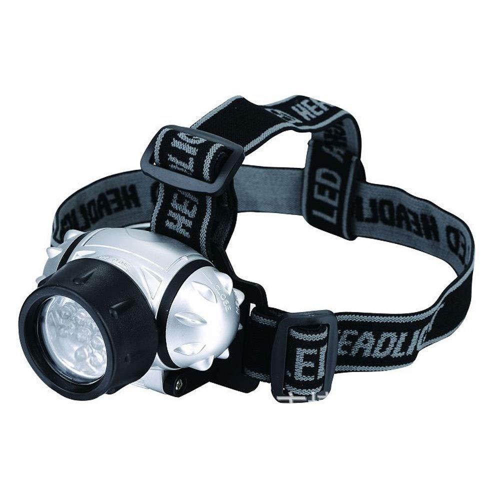 WMM- headlamp Antorcha de Cabeza de 7 LED, Faro a batería para ...
