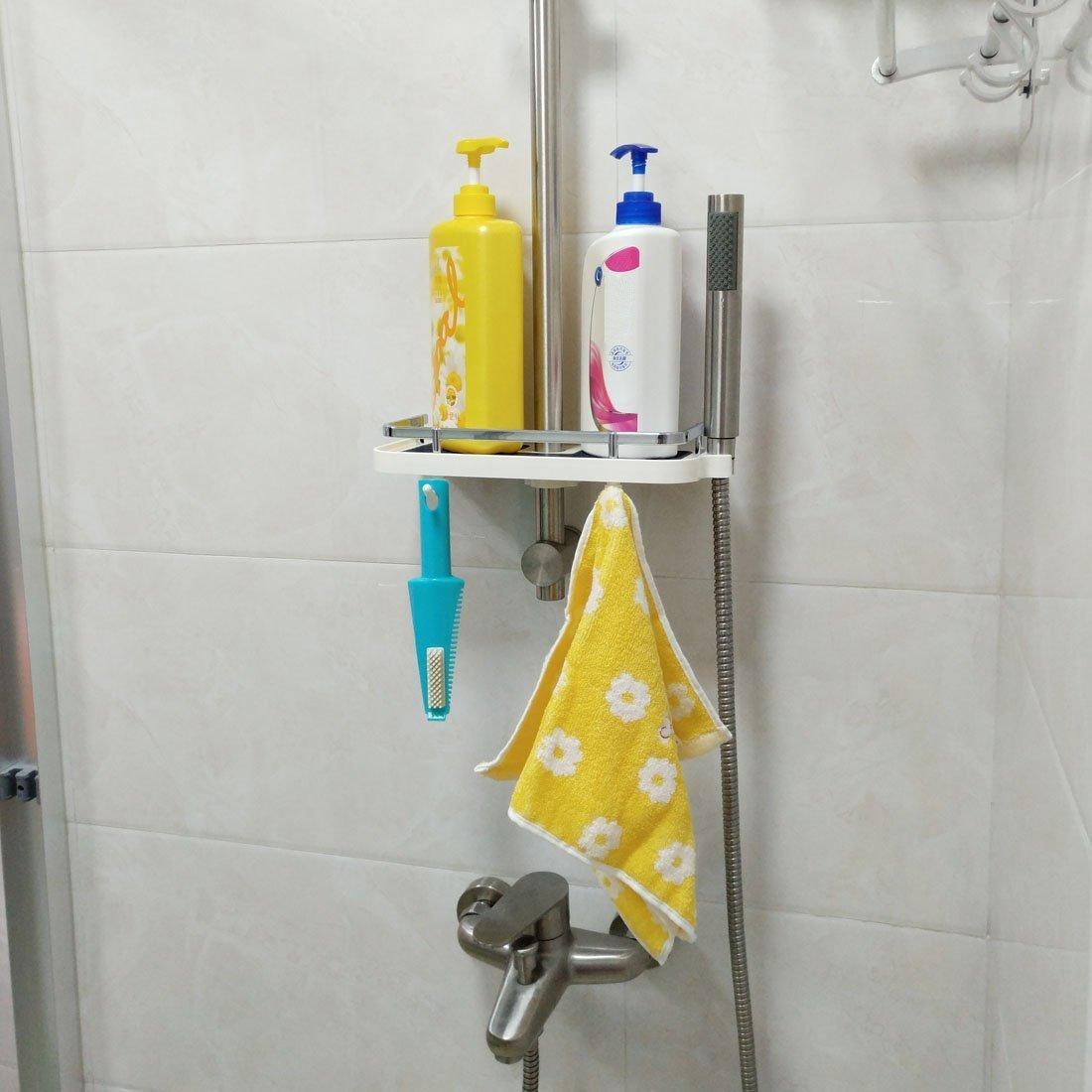 Kunststoff Dusche Caddy Regal Badezimmer Tablett Rack Bad
