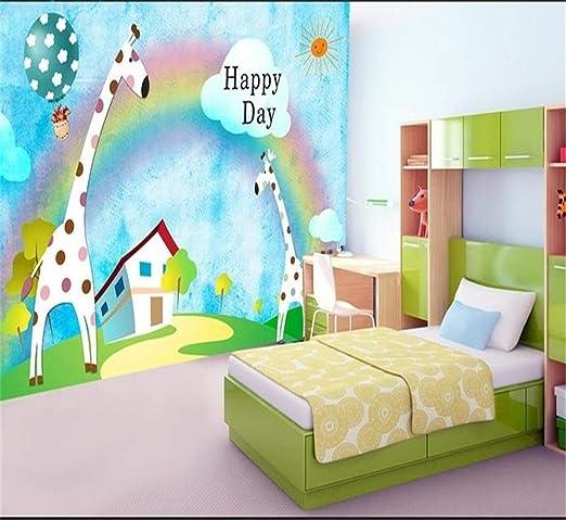Decoración 3D Kids Baby Room Wallpaper Photo Mural No Tejido ...
