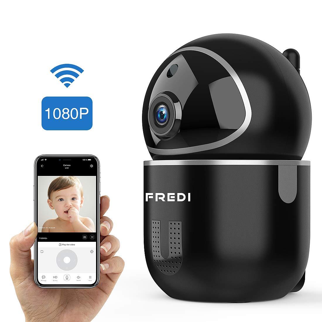 Cámara de vigilancia FREDI WiFi con detección de movimiento, visión nocturna y audio bidireccional por 29,09€ ¡¡71% de descuento!!