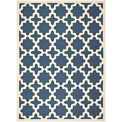 Bone 12x12 (Safavieh Courtyard Collection CY6913-248 Red and Bone Indoor/Outdoor Area Rug (9' x 12'))
