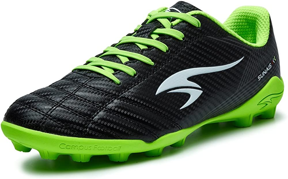 SUNAIS Athletic Running Soccer Shoes MG Outdoor Performance Shock Buffer Foot Care Little Kid Big Kid