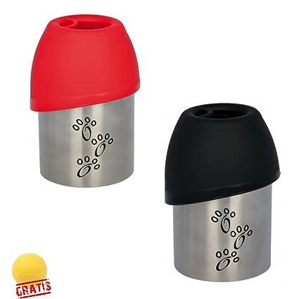 Trixie botella napf práctica dispensador de agua para viajes, para perros + Ball gratis