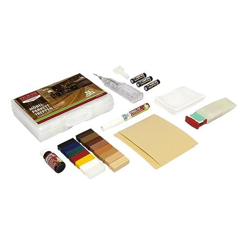 Safekom 19pcs Laminate Floor Worktop Furniture Repair Tool Kit