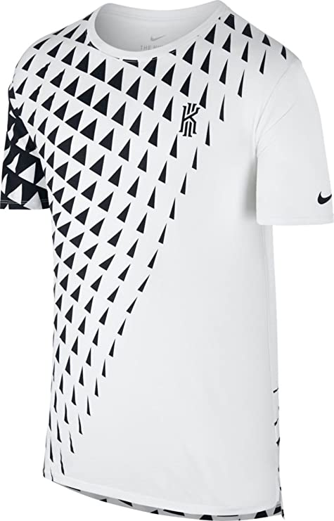 bd45f5522 Image Unavailable. Image not available for. Color: Nike Men's Kyrie Art 1 T- Shirt XX-Large White Black