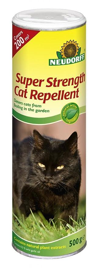 Neudorff Super Strength - Repelente para gatos, 500 g