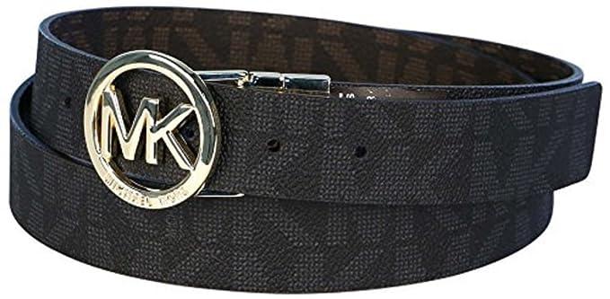 7771d9253f6e5 Michael Kors Gürtel Damen Wendegürtel  Reversible  schwarz oder braun 3 cm  breit Größe S