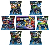 Lego Batman Movie Story Pack + Excalibur Batman + The Joker & Harley Quinn Team Pack + The Lego Movie Bad Cop & Benny Fun Packs + The Lord Of The Rings Gimli & Gollum fun packs - LEGO Dimensions