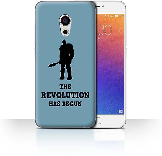 Stuff4® Phone Case/Cover/Skin/mzu de CC/Funny Korg Quotes Collection Revolution Ragnarok Kunst Meizu Pro 6: Amazon.es: Informática