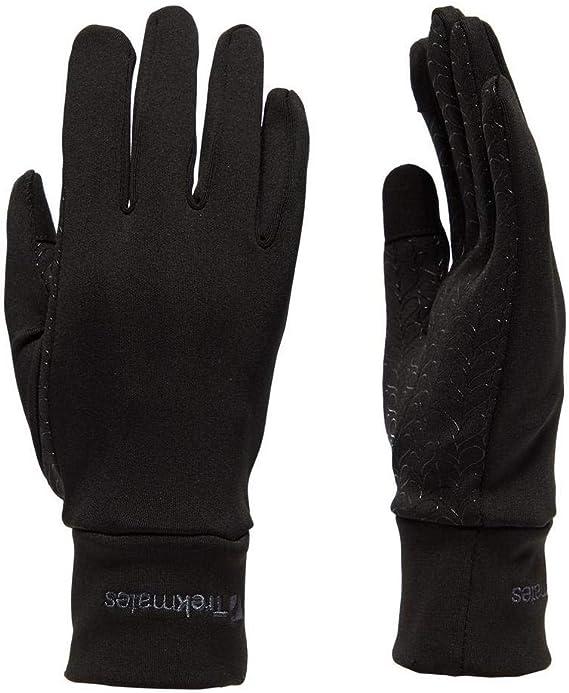 Trekmates waterproof fleece gloves with palm grips