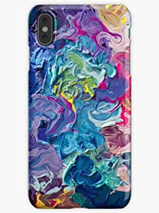 Rainbow Flow Abstraction Phone Case for iPhone XS Max