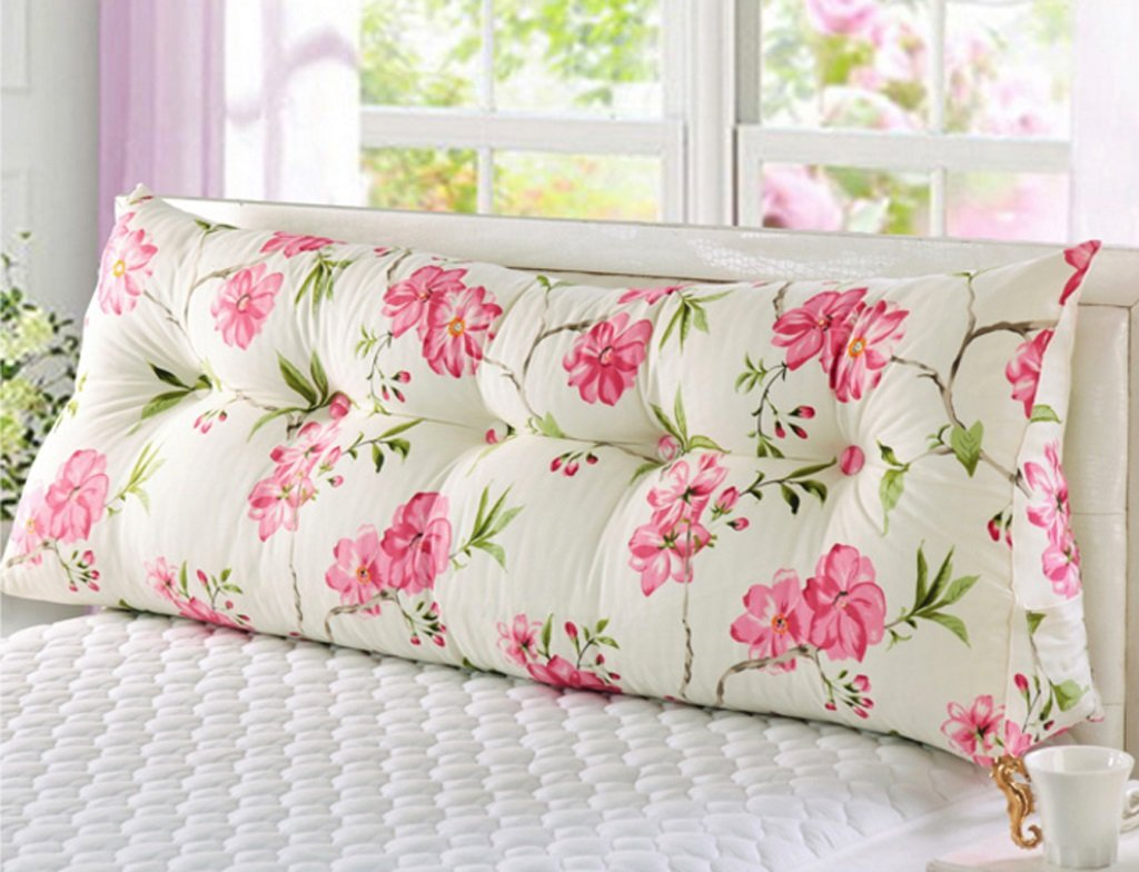Bedside Cushions Soft Triangle Big Cushions Bed Sofa Pillow ( Color : B , Size : 10050cm )