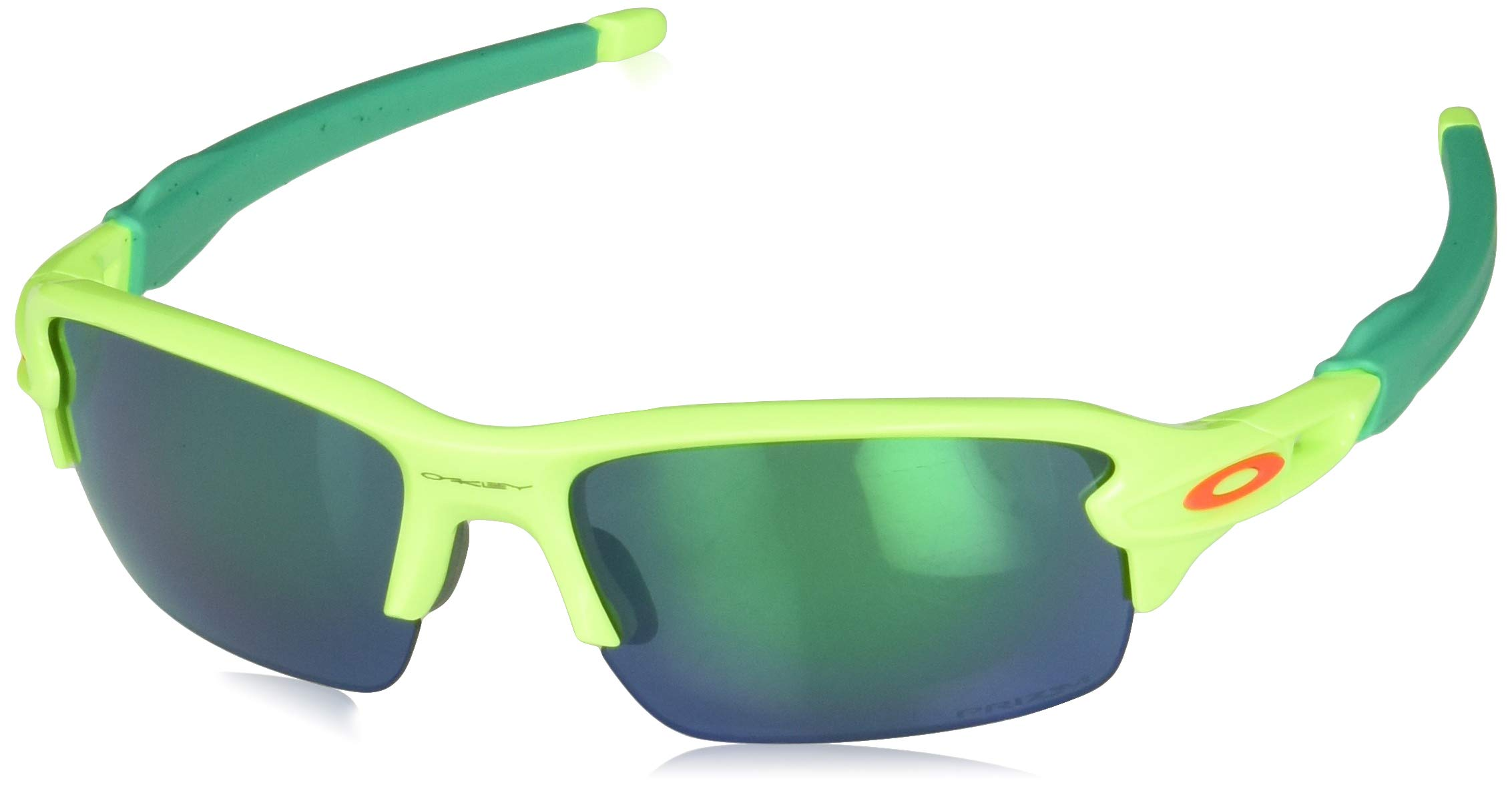 Oakley Youth Boys OJ9005 Flak XS Rectangular Sunglasses, Retina Burn/Prizm Jade, 59 mm