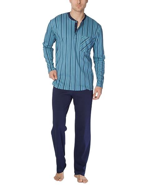Calida Clint Herren Pyjama, Conjuntos de Pijama para Hombre: Amazon.es: Ropa y accesorios
