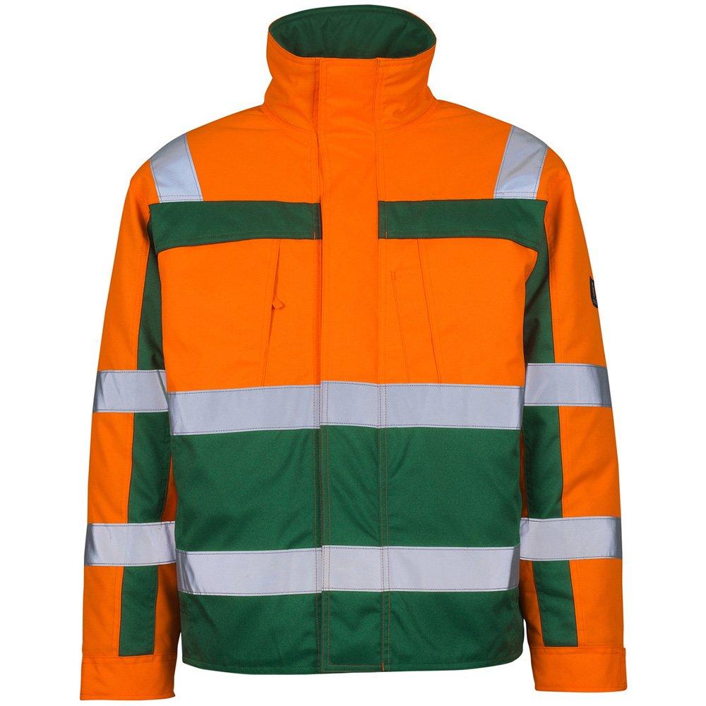 Mascot Pilotenjacke Timon, 1 Stück, S, orange/grün, 07123-126-1403-S