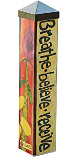 Studio M Garden Art Pole Fade Resistent Outdoor Décor , 20 Inches Tall,