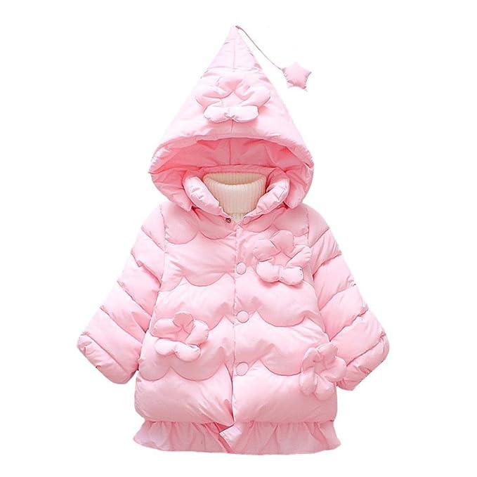 koly Abrigo ropa para Niñas Niños Impermeable Parka infantil Bebé Niño Niñas Otoño Invierno abrigo con