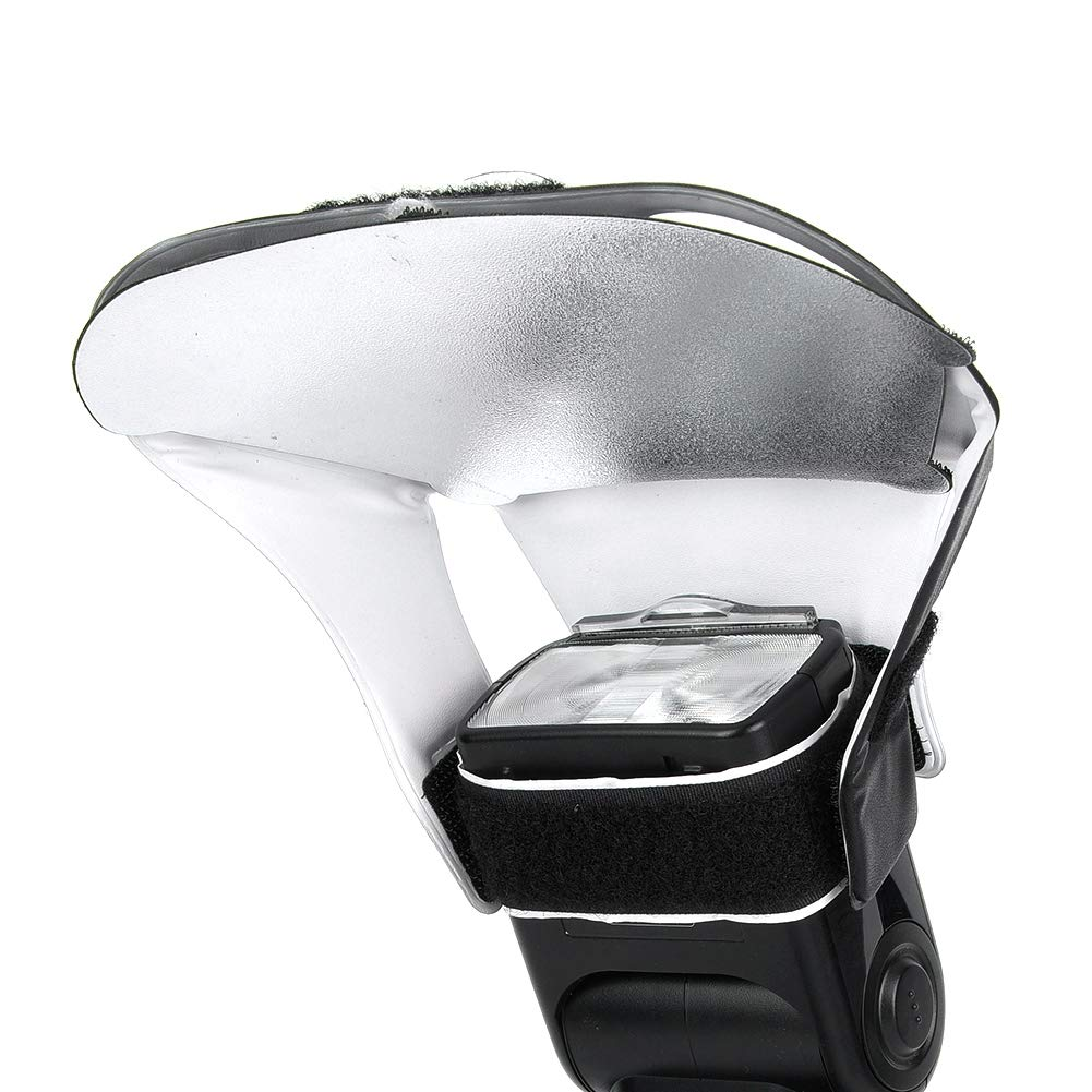 c/ámara SLR Universal L/ámpara de luz de Flash Superior Juego de Tablero Reflector Plata Blanco Golden Choice EBTOOLS Kit de Tablero Reflector