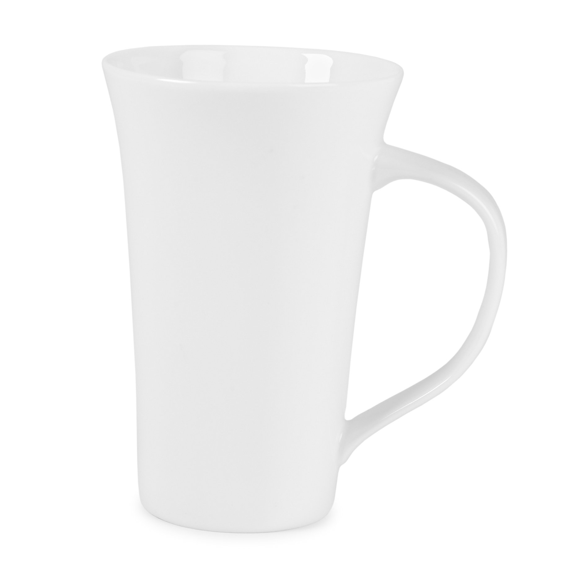 Gourmet Whiteware Collection, Latte Mug by Fitz and Floyd