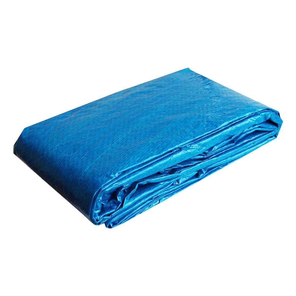 Impermeable Resistente A Los Rayos UV Cubierta De Polvo Rich-home Cubierta para Piscina Tela Solar Cubierta para Todo Tipo De Piscinas 220 x 150CM Cubierta Marco Rectangular De Piscina