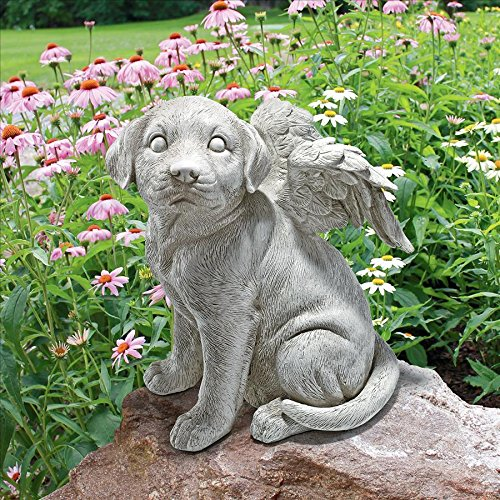 Loving friend memorial dog statue