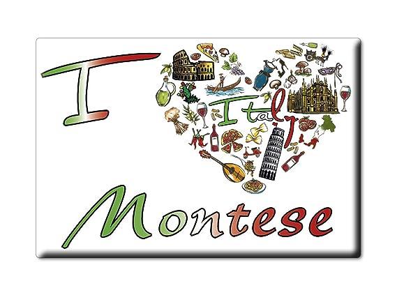 Enjoymagnets MONTESE Souvenir IMANES DE Nevera Emilia Romagna IMAN ...