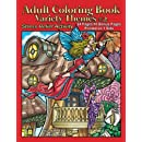 Adult Coloring Book Variety Themes #2: Stress Relief Activity (Volume 2)