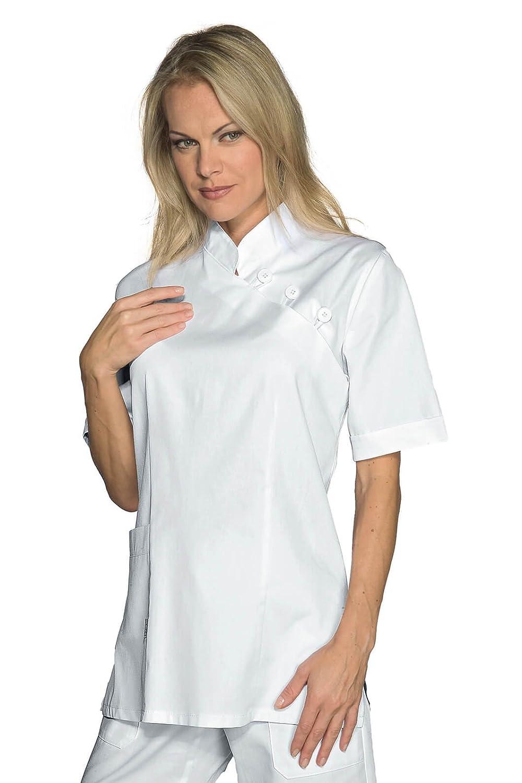 Isacco Casacca Taipei Bianco 100/% Cotone S Bianco Manica Lunga