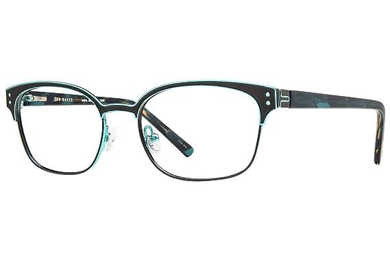 8076df326f Amazon.com  Ted Baker B237 Womens Eyeglass Frames - Black  Clothing