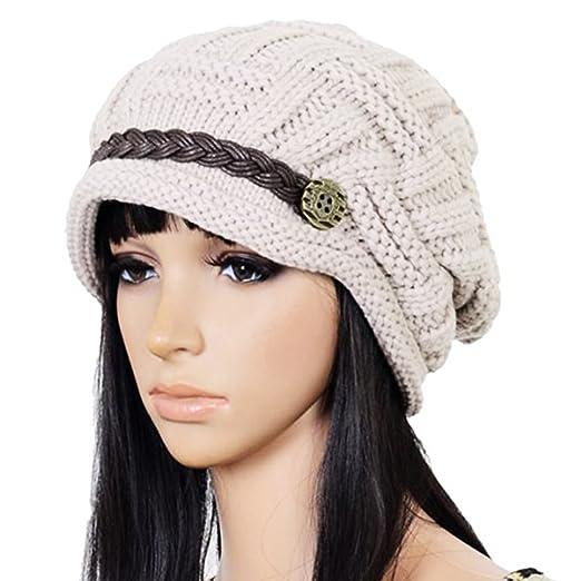 4edacab62ea Bigbuyu Slouchy Beanie Knit Hat