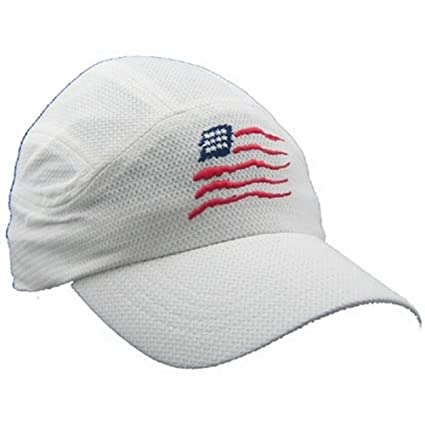 Image Unavailable. Image not available for. Color  Gizmo American Flag Mesh Running  Hat ed5b027b8d10