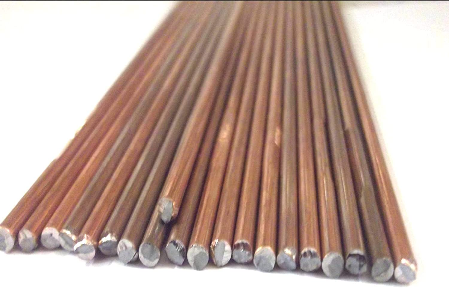 Innovo 10 x 495mm Gas Oxy Welding Rods 3.2mm Copper Coated CCMS Mild Steel