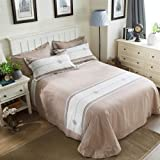 UOUL Sheet Set Cotton Bedding Does Not Fadel Simple