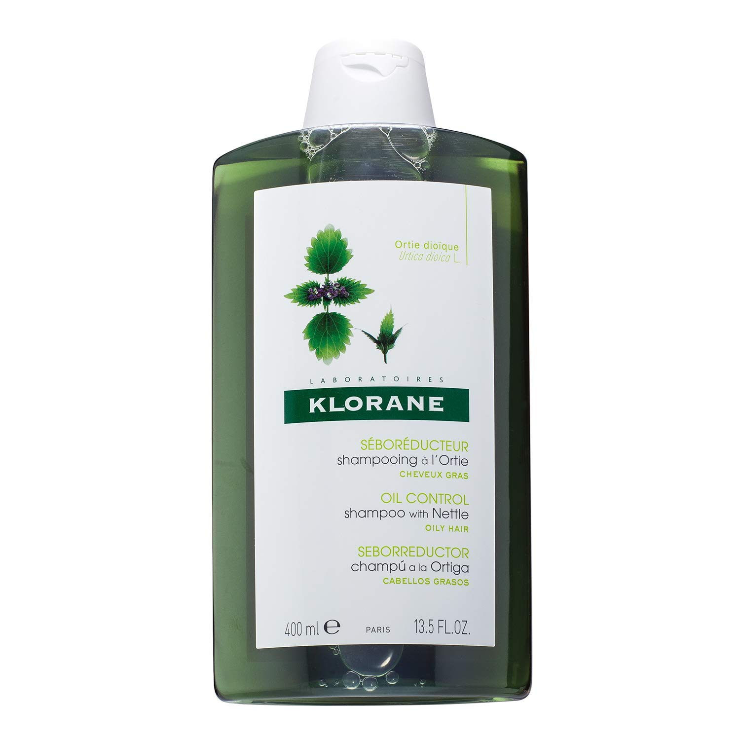 Amazon.com: Klorane Shampoo with Nettle for Oily Hair and Scalp, Regulates  Oil Production, Paraben, Silicone, SLS Free: Premium Beauty