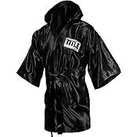 TITLE Boxing Full Length Stock Satin Robe