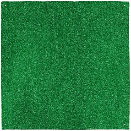 Outdoor Turf Rug - Green - 10' x 10' - Several Other Sizes to Choose From (Green Outdoor Carpet)