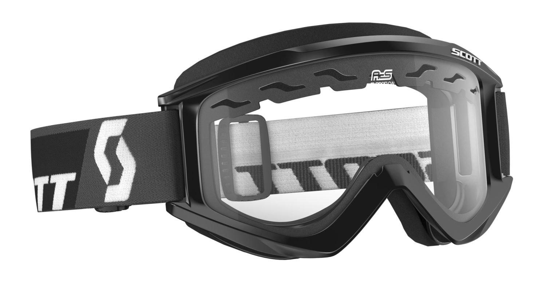 Scott RecoilXi Enduro MX gafas de cross/MTB gafas de sol negro/transparente